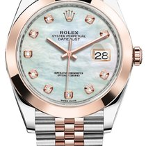 Rolex Gold/Steel 41mm Automatic 126301 MOP Diamond Jubilee new United States of America, New York, Airmont