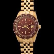 Rolex Gmt Master 6542 Bakelite 18k Yellow Gold