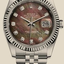 Rolex Datejust 36 mm  Steel  White Gold