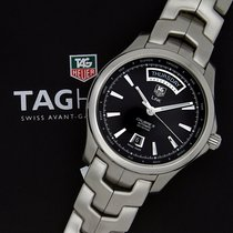 TAG Heuer Caliber 5 Link WJF2010.BA0592 Pre Owned Box & Papers