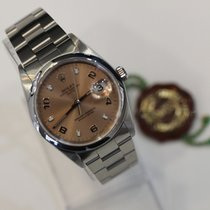 Rolex Oyster Perpetual Date Salmon Pink Dial