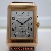 6c23d0d61b6b Jaeger-LeCoultre Rose gold Manual winding Silver Arabic numerals 26mm  pre-owned Reverso Duoface