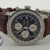 Breitling Old Navitimer Chronograph Black Dial