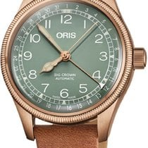 Oris Bronze 36mm Automatic Big Crown Pointer Date new United States of America, New York, Airmont