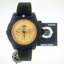 Breitling Avenger Hurricane Carbon 50mm Yellow Arabic numerals
