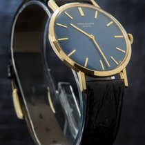 Patek Philippe Calatrava 18K Gold Very Rare Blue Dial +...
