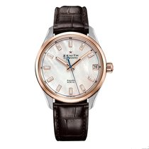 Zenith 40mm Automatic 2019 new El Primero Espada Mother of pearl
