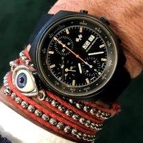 Pryngeps vintage GRAND PRIX chrono date black PVD
