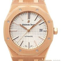 Audemars Piguet Royal Oak Selfwinding nieuw 41mm Roodgoud