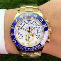 Rolex Yacht-Master II neu 44mm Gelbgold