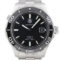 TAG Heuer Aquaracer 500M Steel 41mm Black United States of America, Florida, Boca Raton