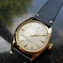 롤렉스 옐로우골드 자동 샴페인색 33mm 중고시계