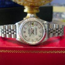 Rolex Lady-Datejust Or/Acier 26mm Nacre