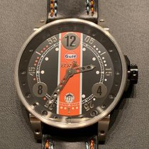 B.R.M Steel 44mm Automatic V6-44-GULF-LAST ED 3/30 new