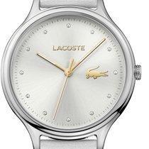 Lacoste Steel Quartz Silver 38mm new
