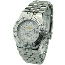 Breitling Starliner Steel 30mm Silver Roman numerals