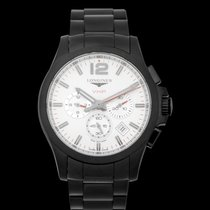 Longines Conquest Steel 44mm Silver United States of America, California, San Mateo
