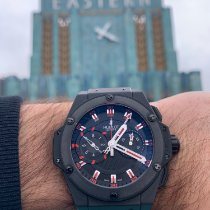 Hublot King Power Cerámica 48mm Negro Sin cifras