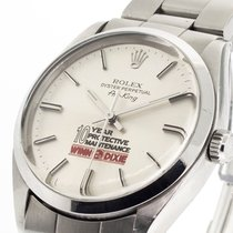 Rolex Air King Precision Steel 34mm Silver No numerals United States of America, Georgia, Atlanta