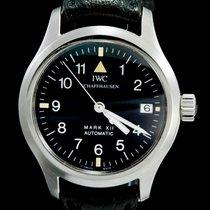 IWC Pilot Mark Acier 36mm Noir Arabes