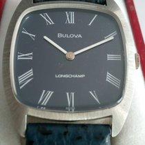 Bulova Steel 32mm Manual winding BULOVA pre-owned