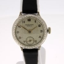 IWC Silver Manual winding Silver Arabic numerals 22mm pre-owned