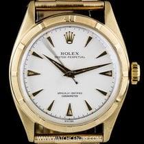 Ρολεξ (Rolex) Vintage Gold Silver Dial Bubbleback Oyster...