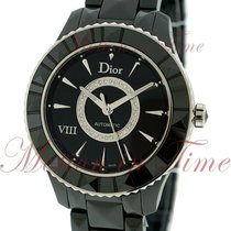 Dior Ceramic Automatic Black No numerals 39mm new VIII