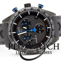 Tissot PRS 516 Quartz Chronograph Carbon Black Dial 42mm T