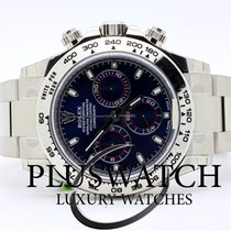 Rolex Daytona White gold  Oro Bianco - Blue Dial - quadrante Blue
