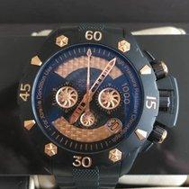 真力时 計時碼錶 46mm 自動發條 2009 二手 Defy 黑色