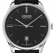 Union Glashütte Viro Date D011.407.16.051.00 pre-owned