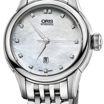 Oris Artelier Date Steel 31mm Mother of pearl United States of America, New York, Airmont
