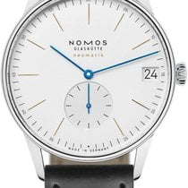 NOMOS Orion Neomatik Steel 40.5mm Silver United States of America, New York, Airmont
