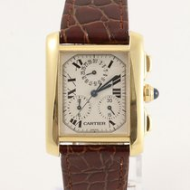 c5920f5982cb Cartier 1830 Yellow gold Tank Française 28mm pre-owned United Kingdom