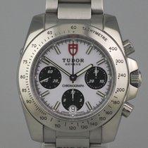 Tudor Sport Chronograph Steel 41mm White No numerals