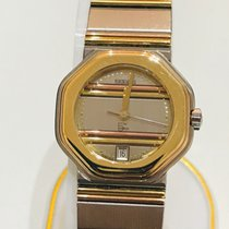 Wempe Gold/Steel Quartz Damenuhr Wempe 5th Avenue 18K Quarz Ref. 3541 pre-owned