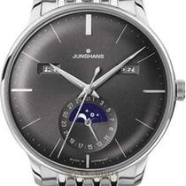 Junghans Meister Calendar Steel 40.4mm Grey No numerals United States of America, Florida, Naples