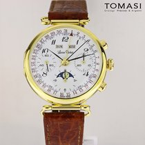 Lucien Rochat Yellow gold 36mm Manual winding Lucien Rochat 1204 new