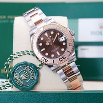 Rolex Yacht-Master 37 Gold/Steel 37mm Brown No numerals Thailand, Bangkok