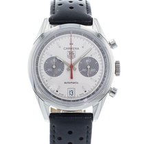 TAG Heuer 39mm Remontage automatique 2010 occasion Carrera Calibre 17 Argent