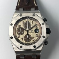 Audemars Piguet Royal Oak Offshore Chronograph Steel 42mm Champagne Arabic numerals Malaysia, Kuala Lumpur