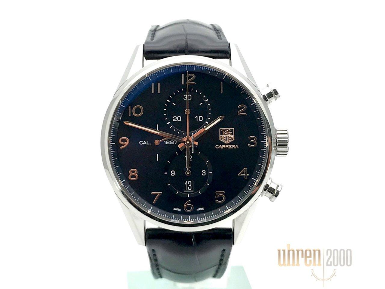 Carrera RefCar2014 Tag Chronograph Heuer Aus fc6235 201 Calibre 1887 SUzMGqVp