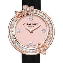 Chaumet Růžové zlato Quartz Růžová 21.5mm nové