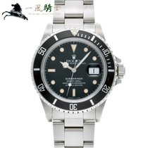 Rolex 16800 Steel 1986 Submariner Date 40mm pre-owned United States of America, California, Los Angeles