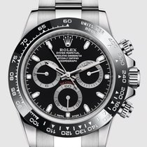 Rolex Daytona Steel 40mm Black No numerals United States of America, New Jersey, Totowa