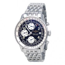 Breitling Old Navitimer Steel 41mm Black United States of America, New York, New York