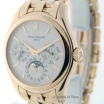 Patek Philippe Perpetual Calendar Yellow gold 37mm Champagne United States of America, Florida, 33431