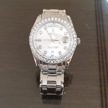 Rolex Day-Date pre-owned 39mm Mother of pearl Date Weekday Platinum