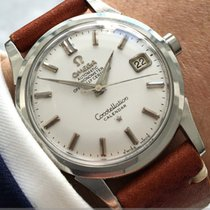 Omega Constellation 2943-1 SC VINTAGE AUTOMATIC AUTOMATIK DATE DATUM 1958 pre-owned